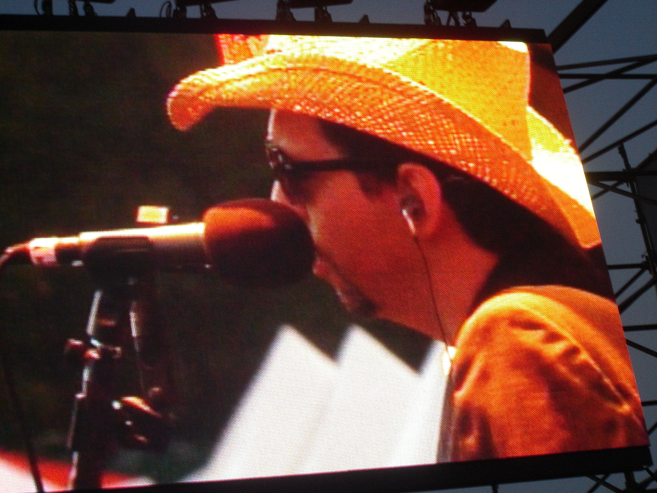 Mark on the big screen at ACL Fest 2006